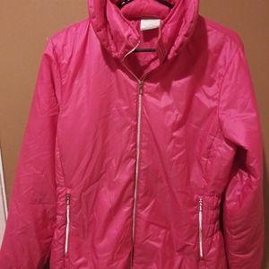 Nike Golf Hot Pink Zipup with Hood Size Medium